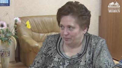 Героиня программы – Елена Бобина, директор школы № 1368