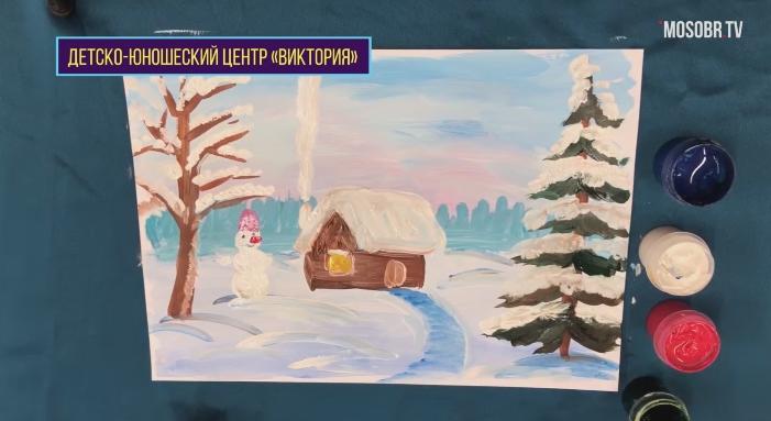 Домик для Снеговика