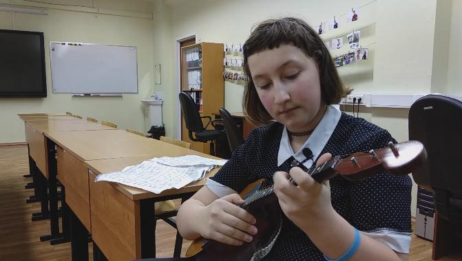 Виктория Краснова о занятиях музыкой