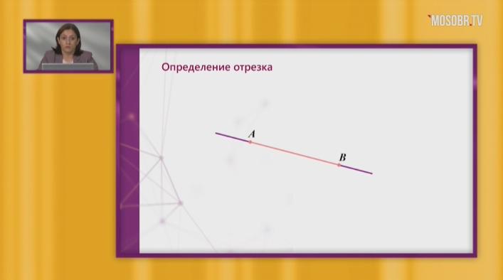 Геометрия, 7 класс. «Длина отрезка»