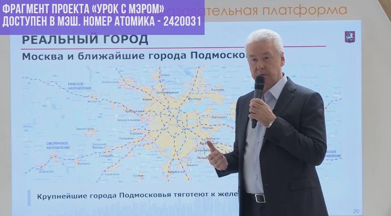 Транспортная система в Москве