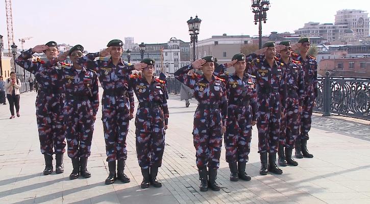 Визит кадет из Индии в Москву