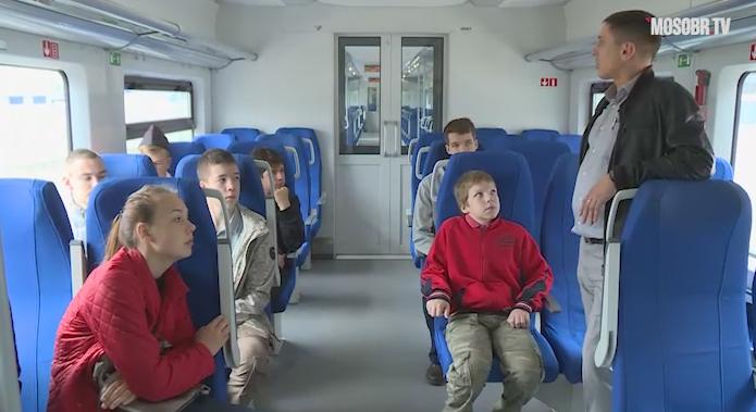 Электропоезд «Ласточка»