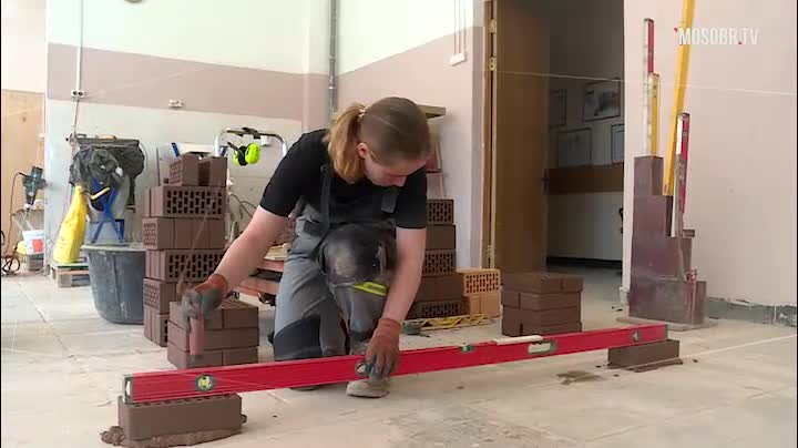 Сила каменщика - в характере!